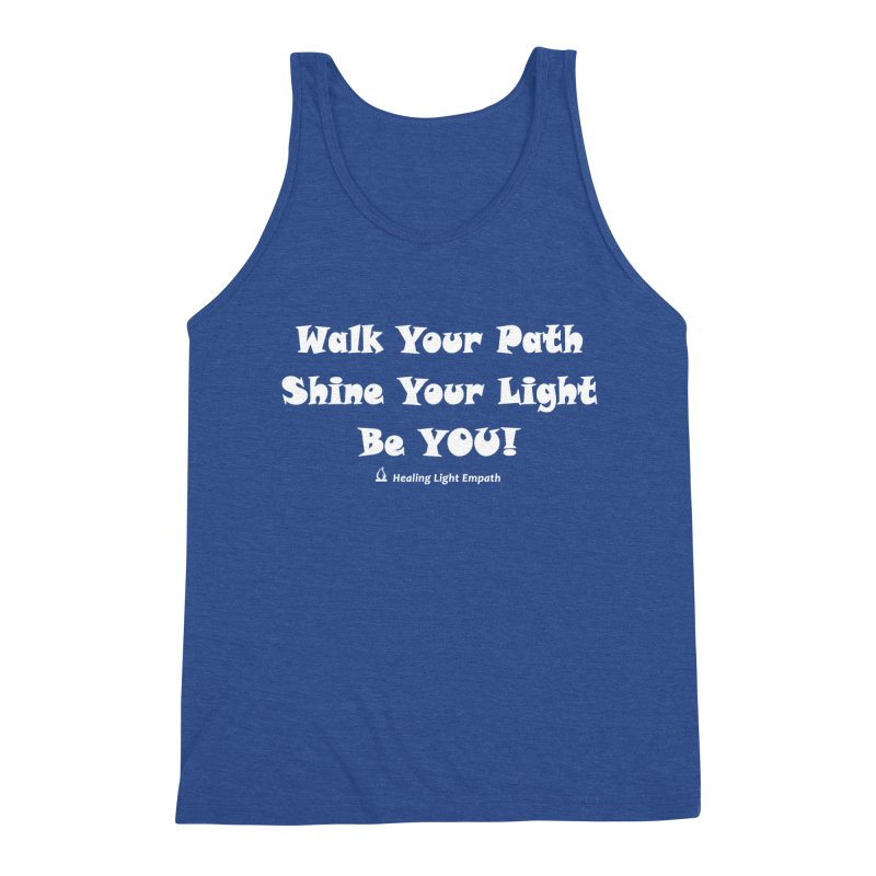 Walk Your Path Affirmation Men's Tank by Welcome to Healing Light Empath's Shop!