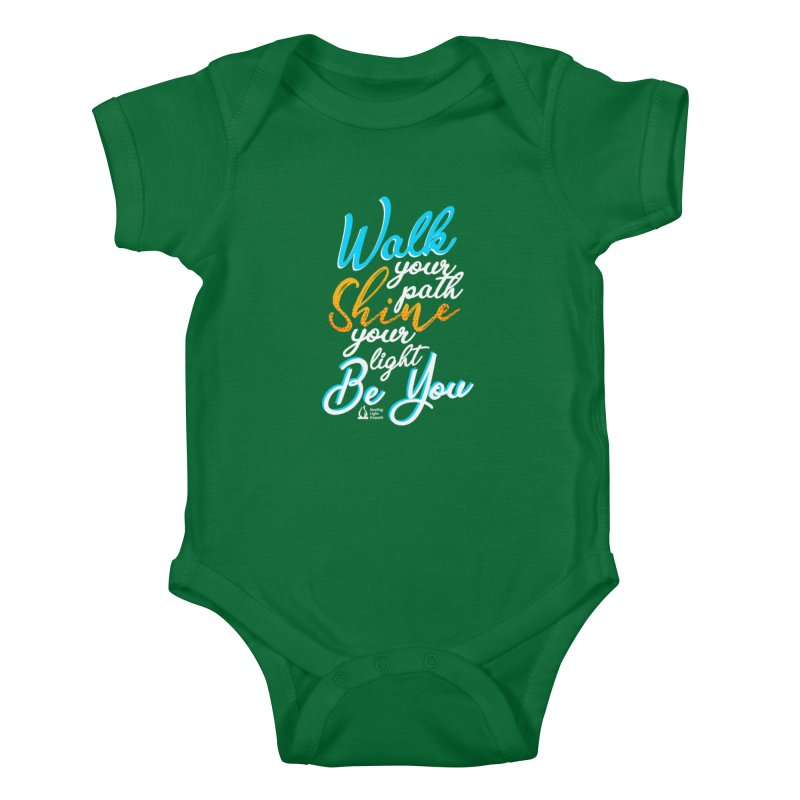 Walk Your Path Shine Your Light BE YOU graphic shirt T shirt Tee Shirt Sweatshirt Cute with Sayings Kids Baby Bodysuit by Welcome to Healing Light Empath's Shop!