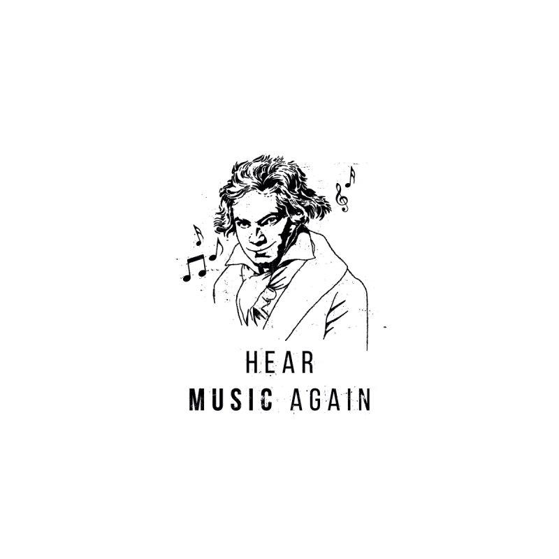 Smiling Beethoven T Shirt Men's T-Shirt by HearMusicAgain's Artist Shop