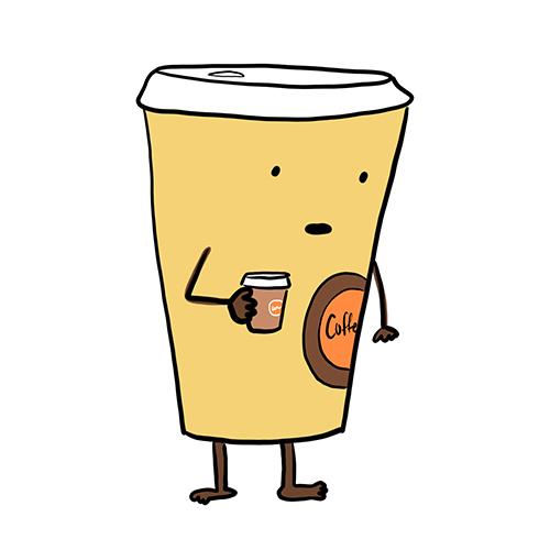Coffee-Holding-Coffee