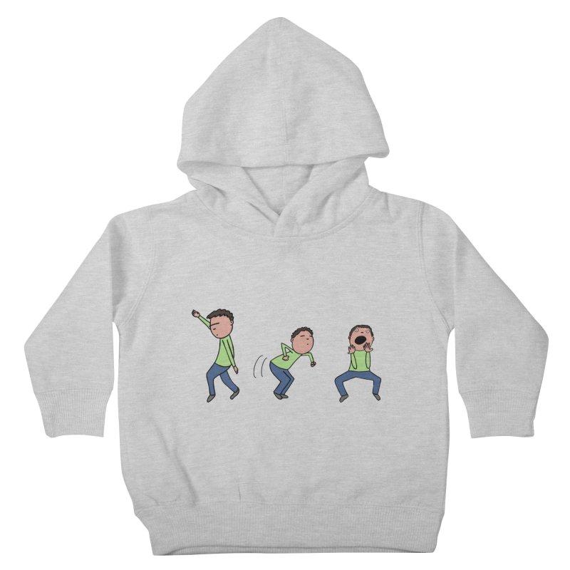 Humorous Dancing Boy Kids Toddler Pullover Hoody by Hedger Humor's Artist Shop