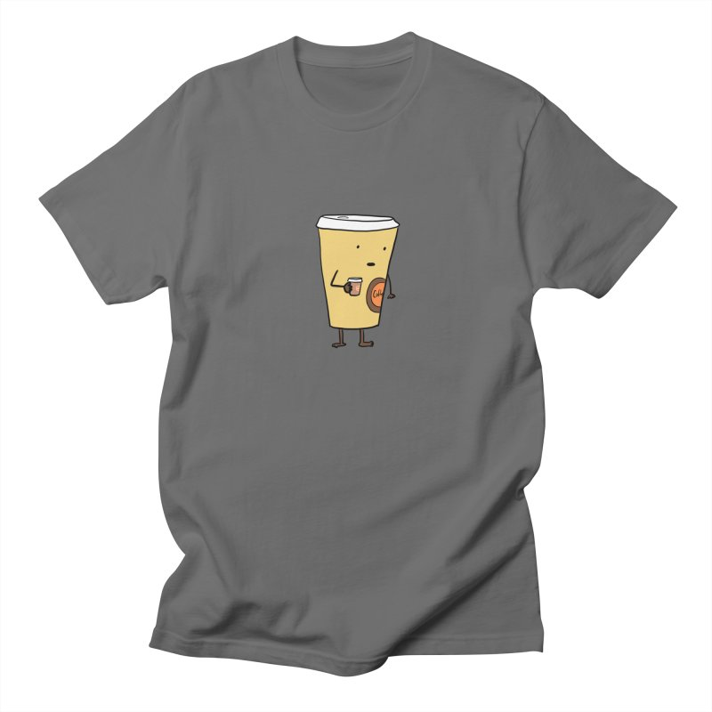 Coffee With Coffee Men's T-Shirt by Hedger Humor's Artist Shop