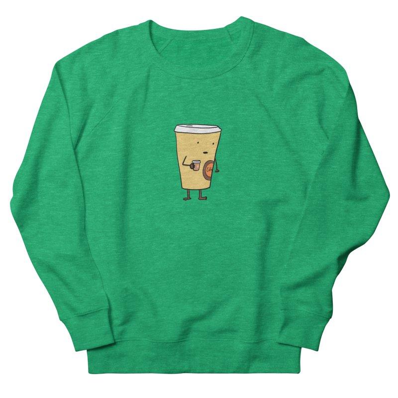 Coffee With Coffee Women's Sweatshirt by Hedger Humor's Artist Shop