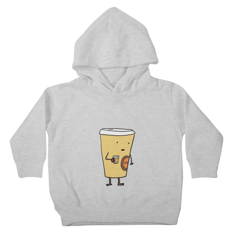 Coffee With Coffee Kids Toddler Pullover Hoody by Hedger Humor's Artist Shop