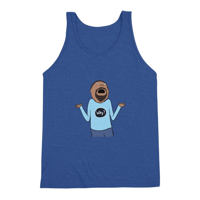 Why Guy Men's Tank by Hedger Humor's Artist Shop