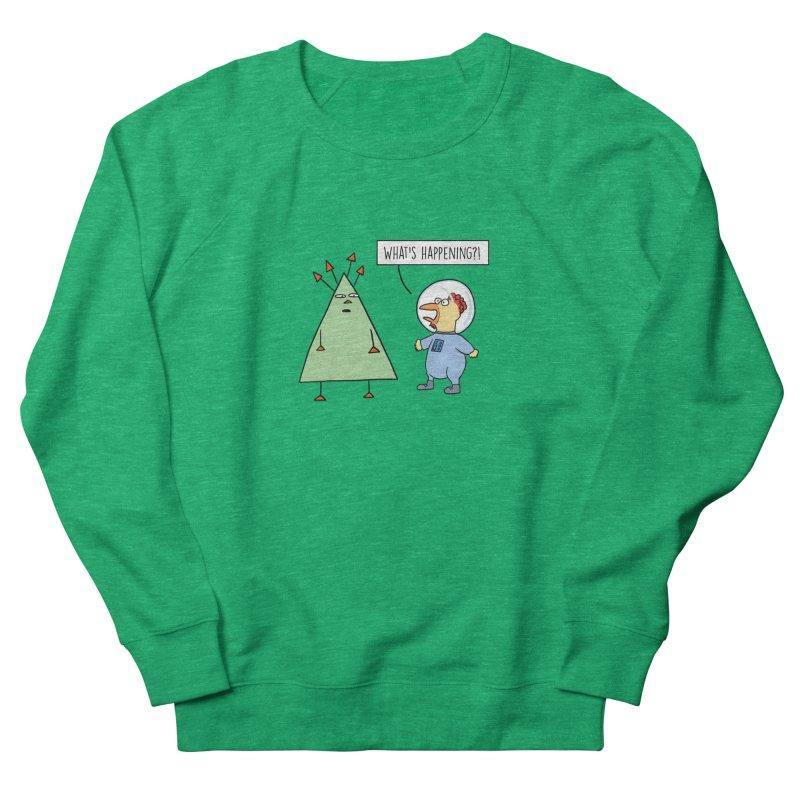 Chauncey and the Alien Women's Sweatshirt by Hedger Humor's Artist Shop