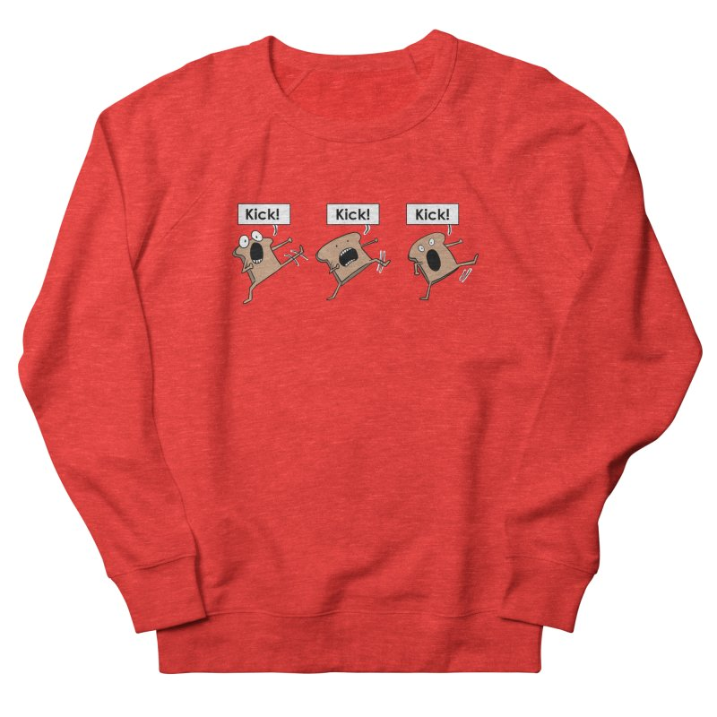 Three Kicking Toasts Women's Sweatshirt by Hedger Humor's Artist Shop