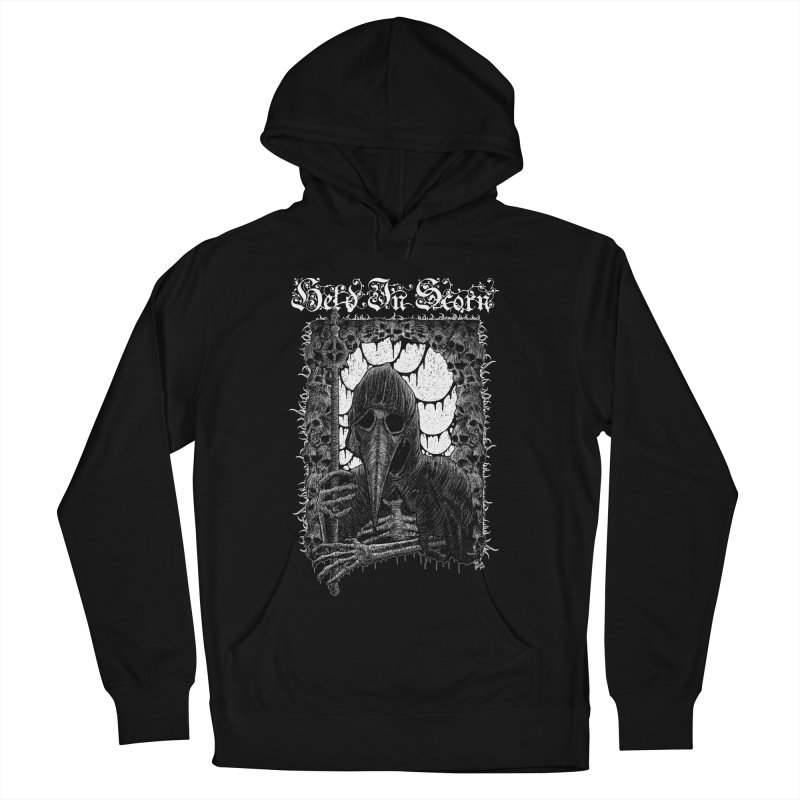 Atra Mors Design Men's French Terry Pullover Hoody by Held In Scorn Merch