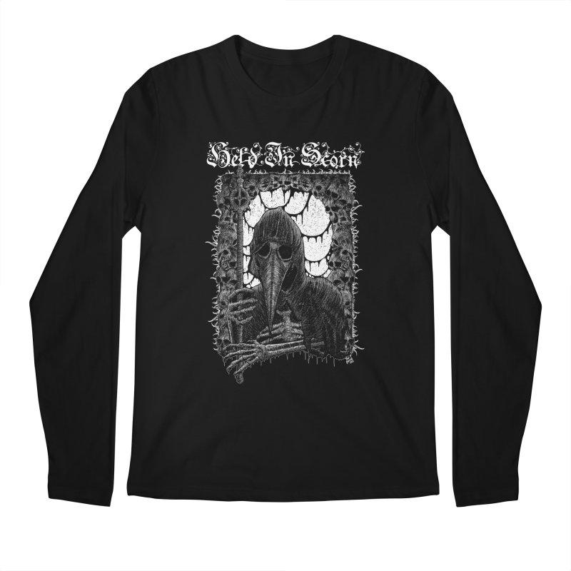 Atra Mors Design Men's Regular Longsleeve T-Shirt by Held In Scorn Merch
