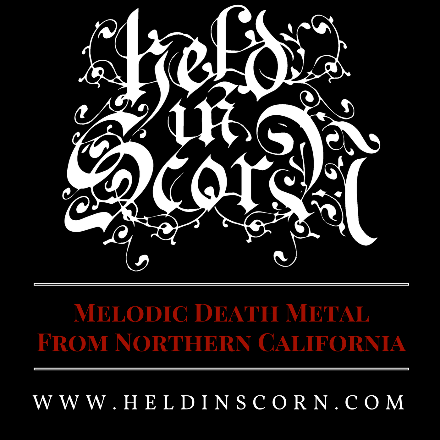 Held In Scorn Merch Logo