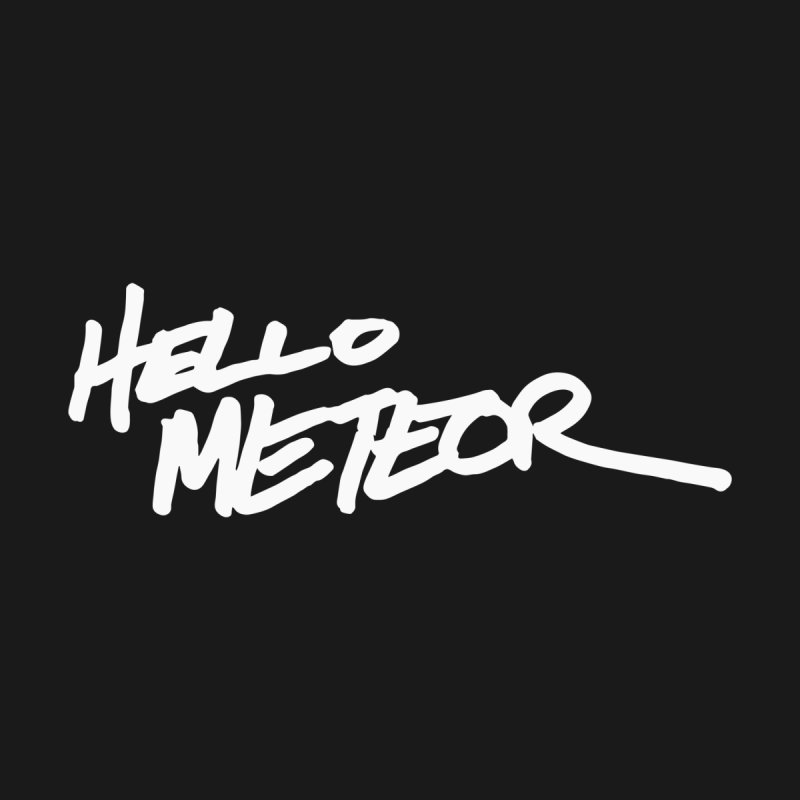 Hello Meteor Heritage Men's T-Shirt by Evergreen Prefecture