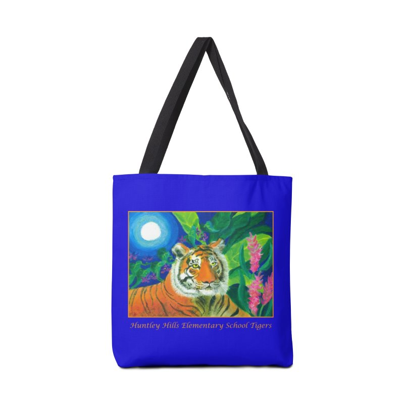 Huntley Hill Tigers in Tote Bag by Heni Sandoval - Color & Light  Artist Shop