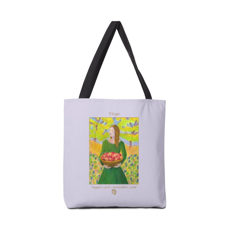 Virgo ~ The Virgin in Tote Bag by Heni Sandoval - Color & Light  Artist Shop