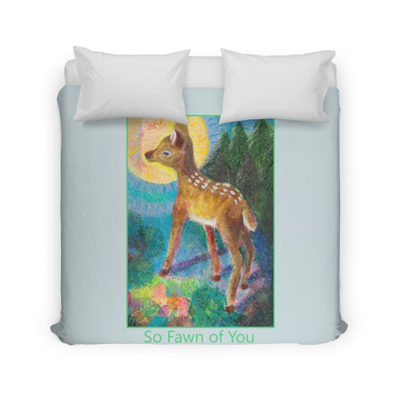 So Fawn of You in Duvet by Heni Sandoval - Color & Light  Artist Shop