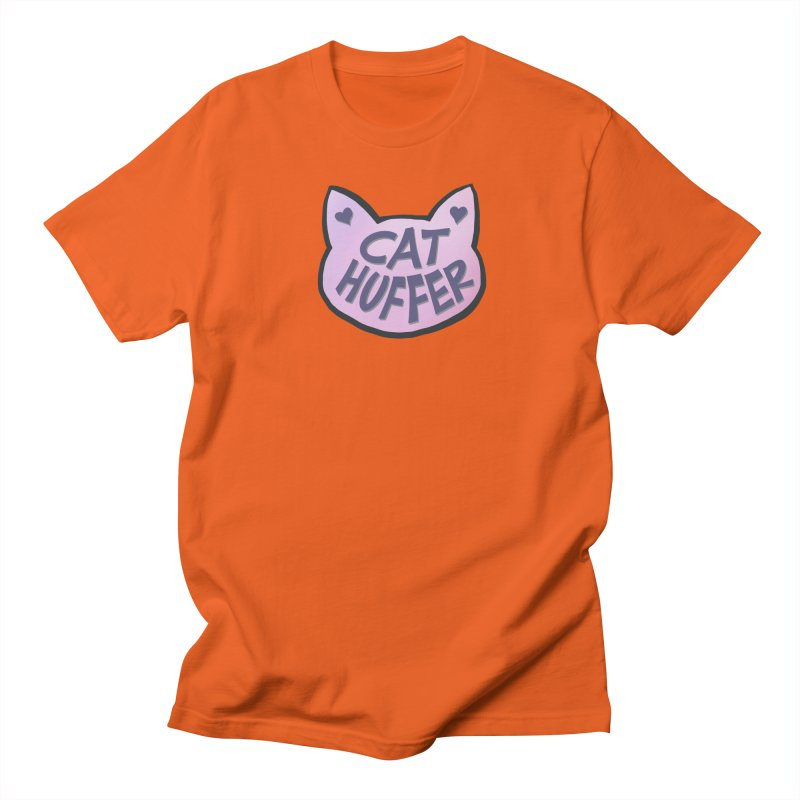 Cat Huffer Men's T-Shirt by Henry Noodle Shop