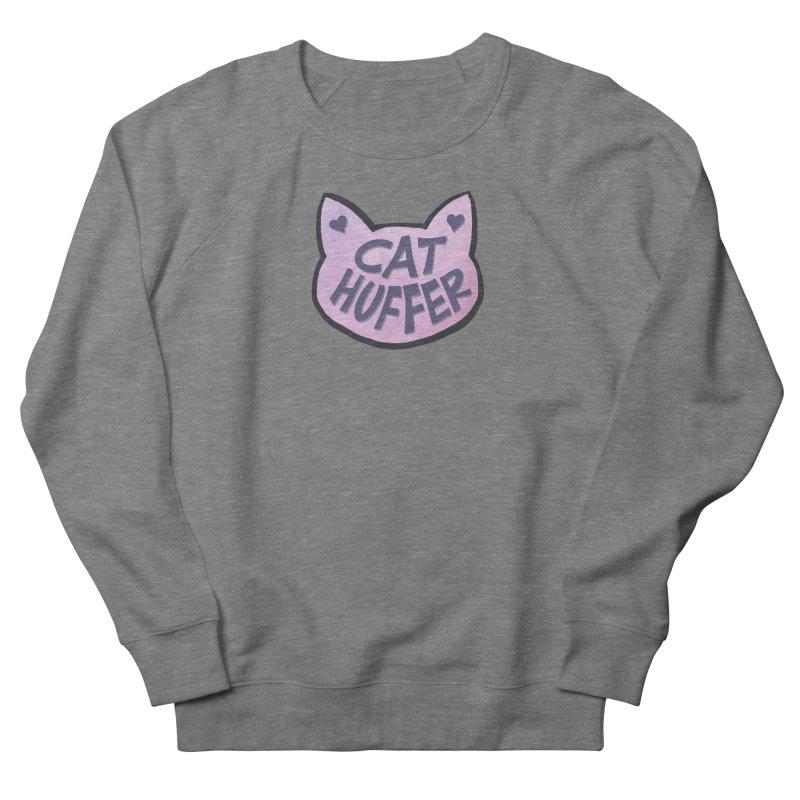 Cat Huffer Women's Sweatshirt by Henry Noodle Shop