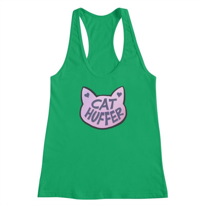Cat Huffer Women's Tank by Henry Noodle Shop