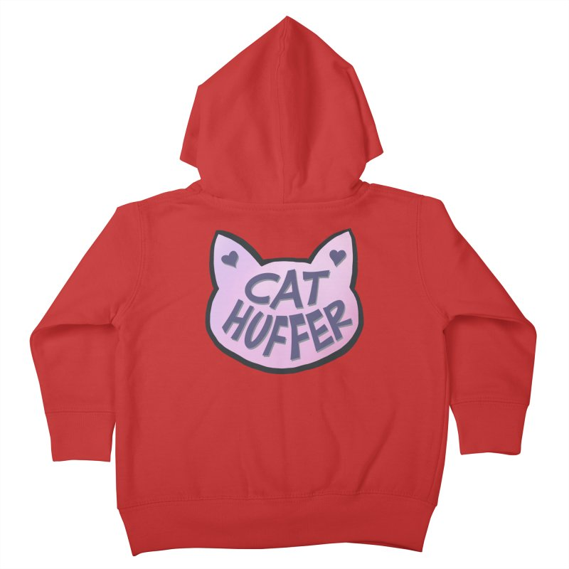 Cat Huffer Kids Toddler Zip-Up Hoody by Henry Noodle Shop