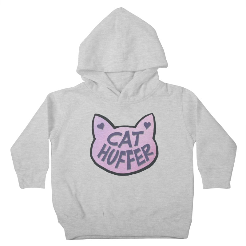 Cat Huffer Kids Toddler Pullover Hoody by Henry Noodle Shop