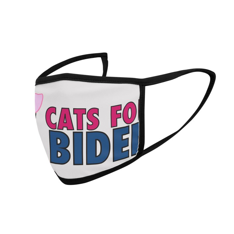 Cats for Biden Accessories Face Mask by Henry Noodle Shop