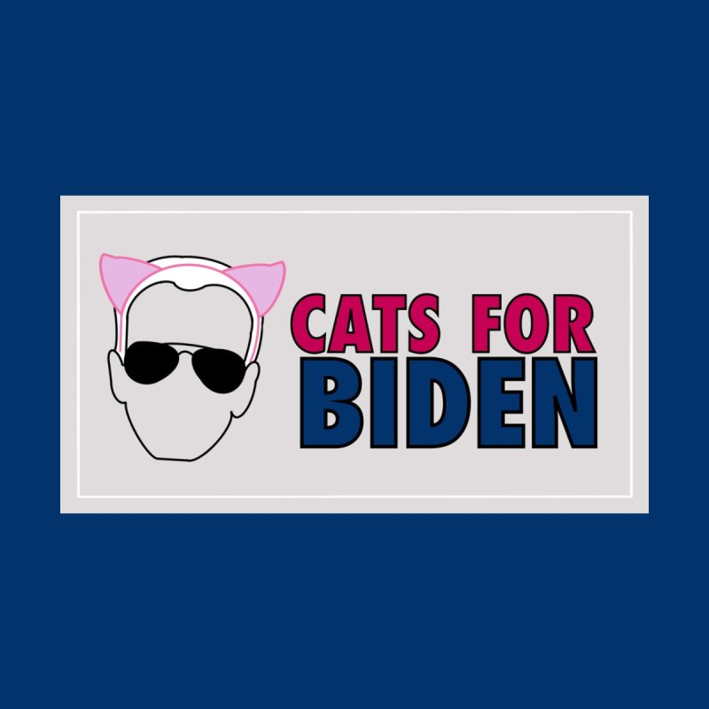 Cats for Biden Men's T-Shirt by Henry Noodle Shop