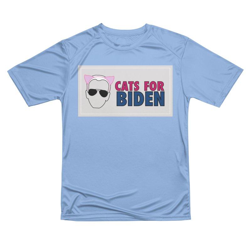 Cats for Biden Men's T-Shirt by Henry Noodle Shop