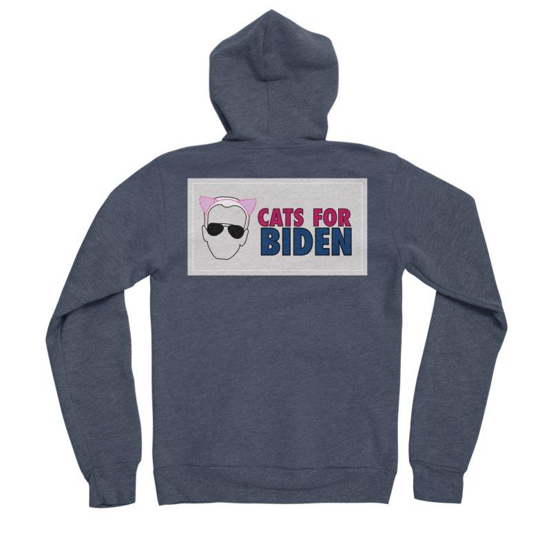 Cats for Biden Women's Zip-Up Hoody by Henry Noodle Shop