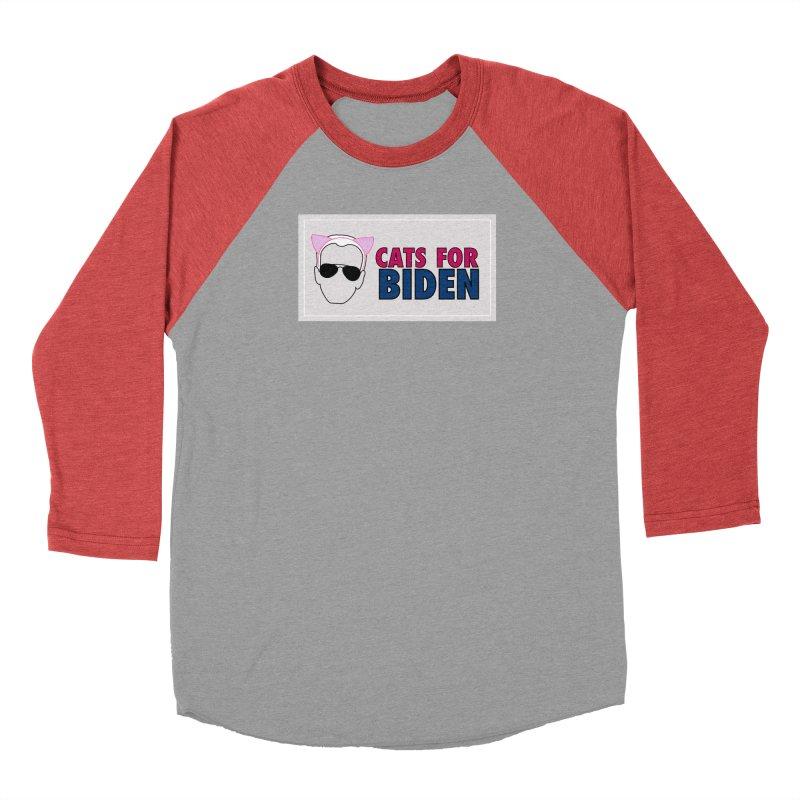 Cats for Biden Men's Longsleeve T-Shirt by Henry Noodle Shop