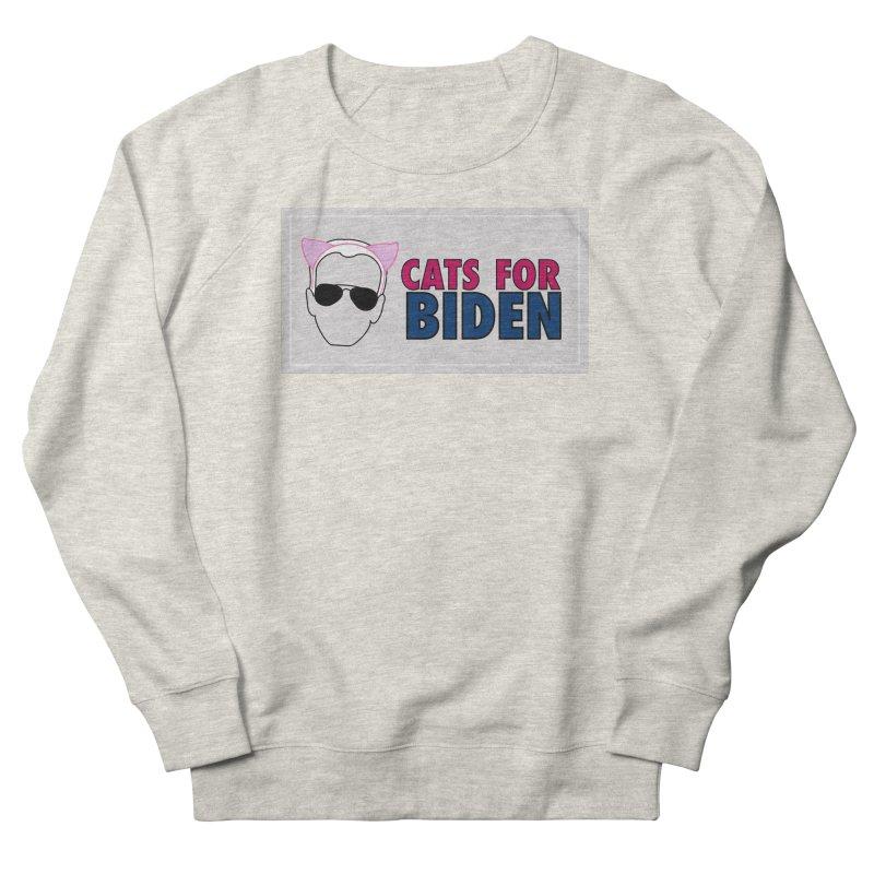 Cats for Biden Men's Sweatshirt by Henry Noodle Shop