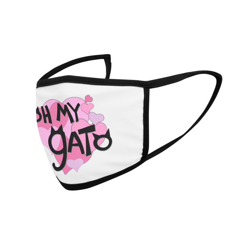Oh My Gato Accessories Face Mask by Henry Noodle Shop