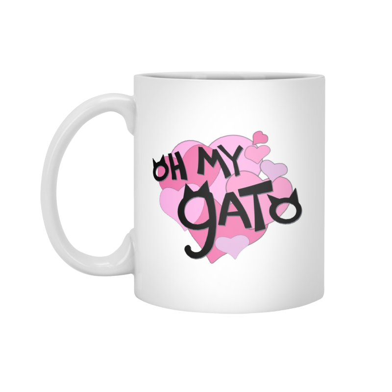Oh My Gato Accessories Mug by Henry Noodle Shop