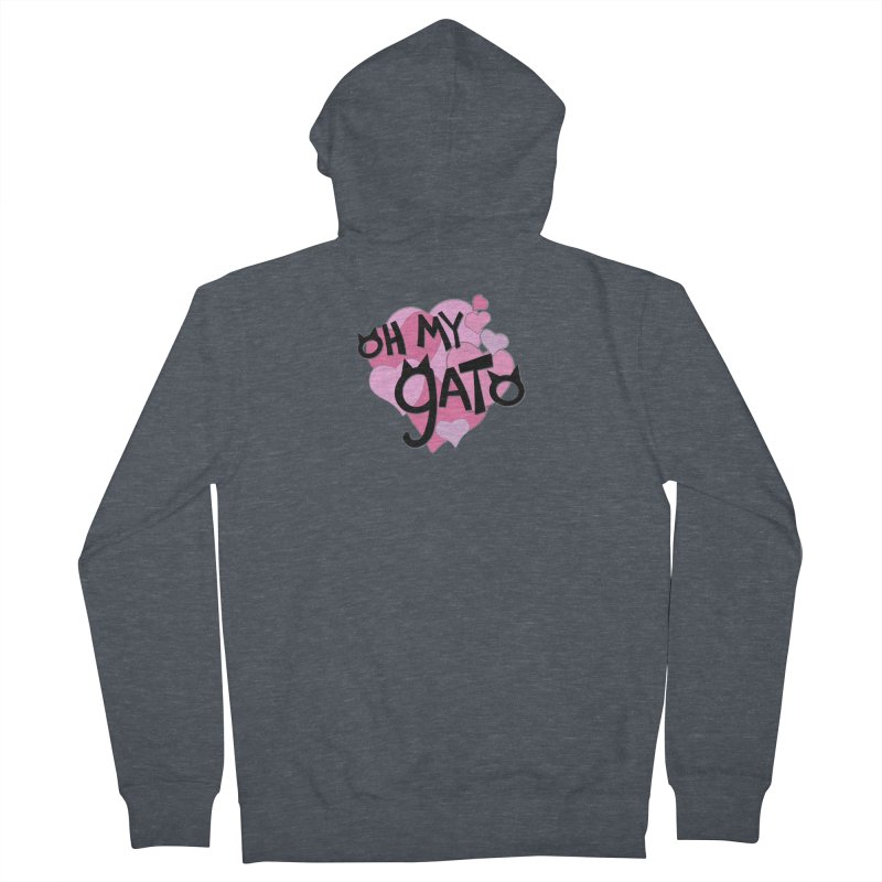 Oh My Gato Women's Zip-Up Hoody by Henry Noodle Shop