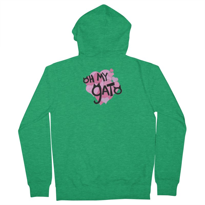 Oh My Gato Men's Zip-Up Hoody by Henry Noodle Shop