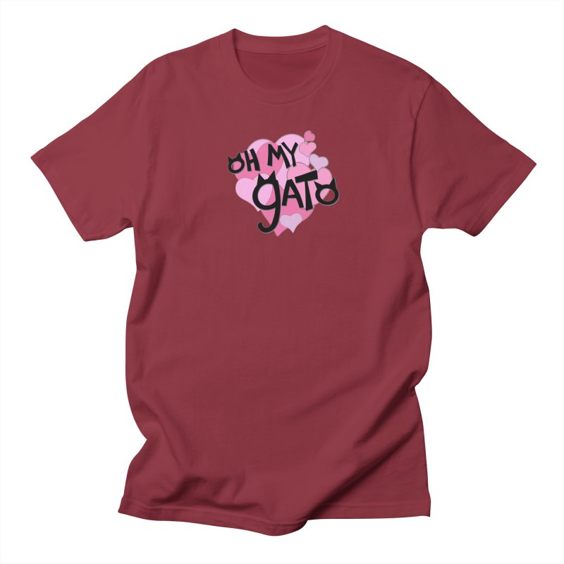 Oh My Gato Men's T-Shirt by Henry Noodle Shop