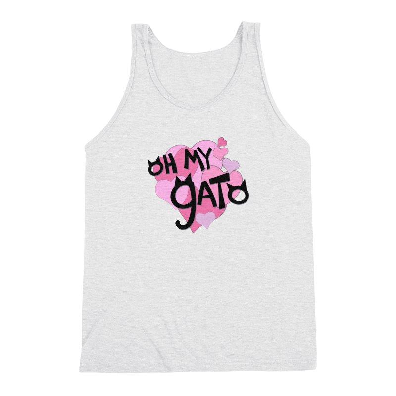 Oh My Gato Men's Tank by Henry Noodle Shop