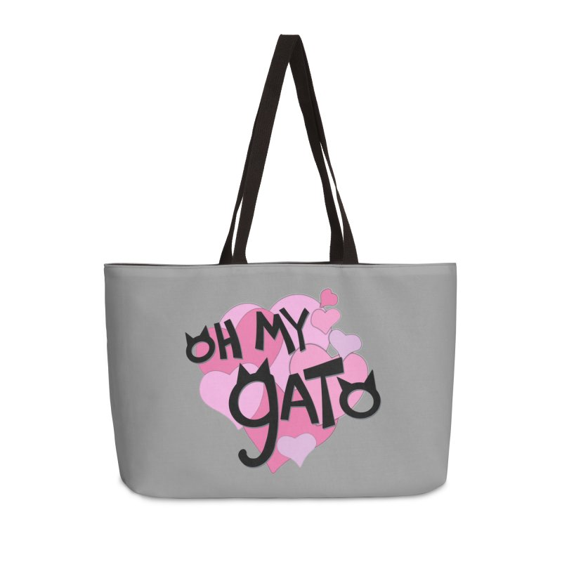 Oh My Gato Accessories Bag by Henry Noodle Shop