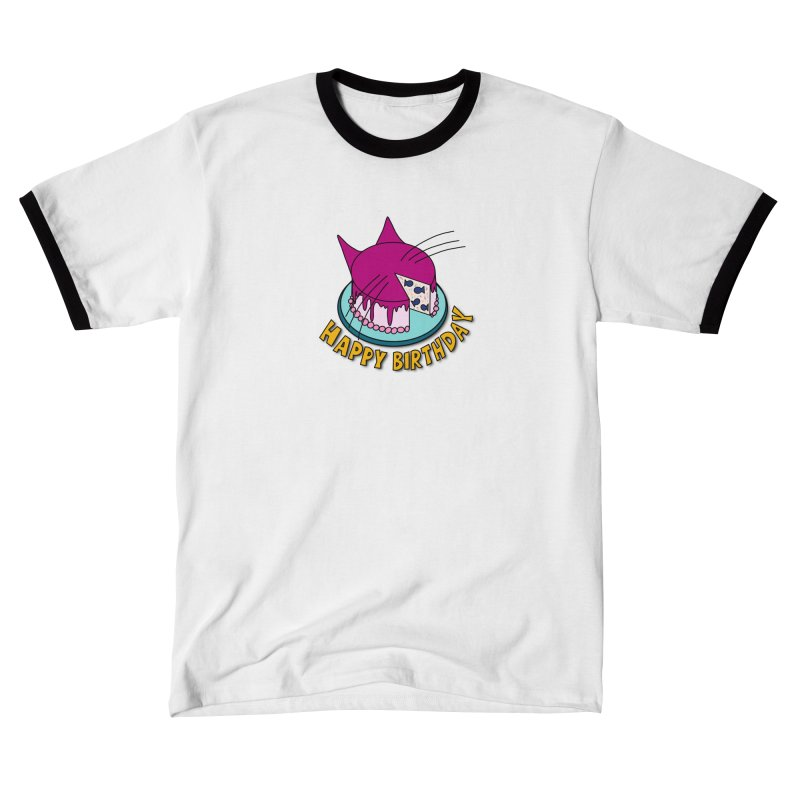 Happy Birthday Cat Fish Cake Women's T-Shirt by Henry Noodle Shop