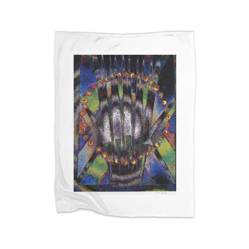 Fountain162 Home Blanket by HerbOpitzArt's Artist Shop