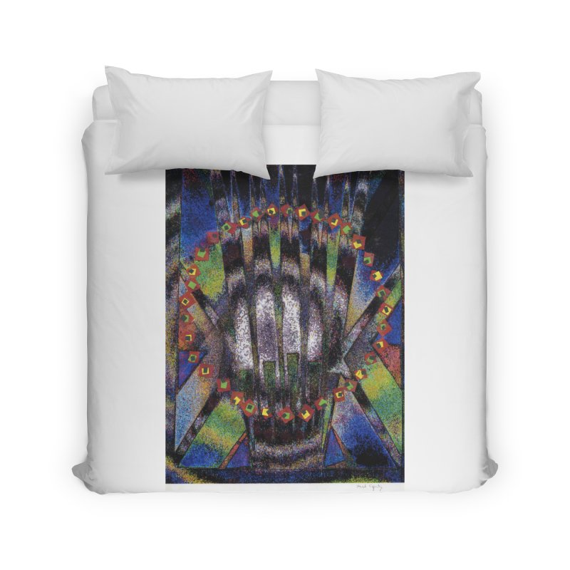 Fountain162 Home Duvet by HerbOpitzArt's Artist Shop