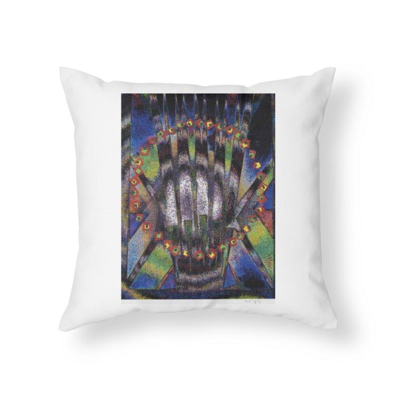 Fountain162 Home Throw Pillow by HerbOpitzArt's Artist Shop