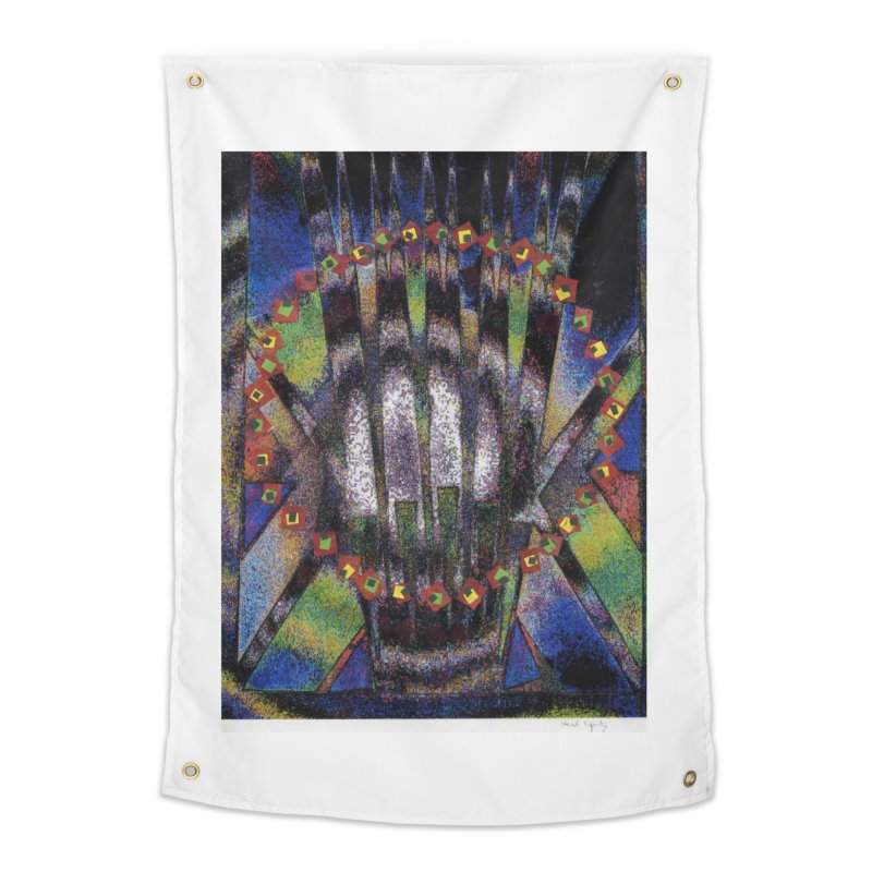 Fountain162 Home Tapestry by HerbOpitzArt's Artist Shop