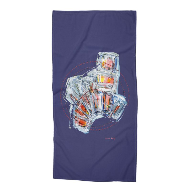 Icy157 Accessories Beach Towel by HerbOpitzArt's Artist Shop