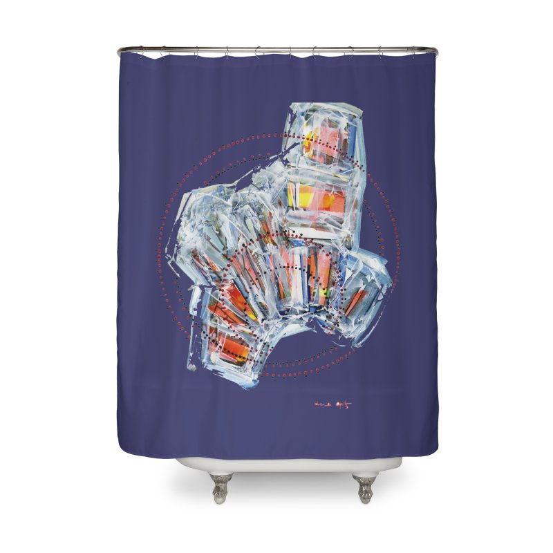 Icy157 Home Shower Curtain by HerbOpitzArt's Artist Shop