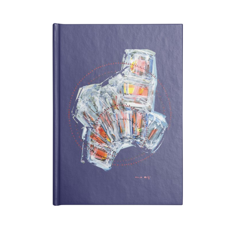 Icy157 Accessories Notebook by HerbOpitzArt's Artist Shop
