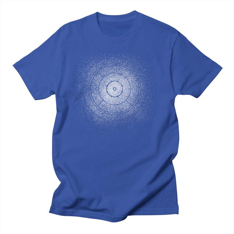 Crokinole Sprayed Men's T-Shirt by Herhuth Design