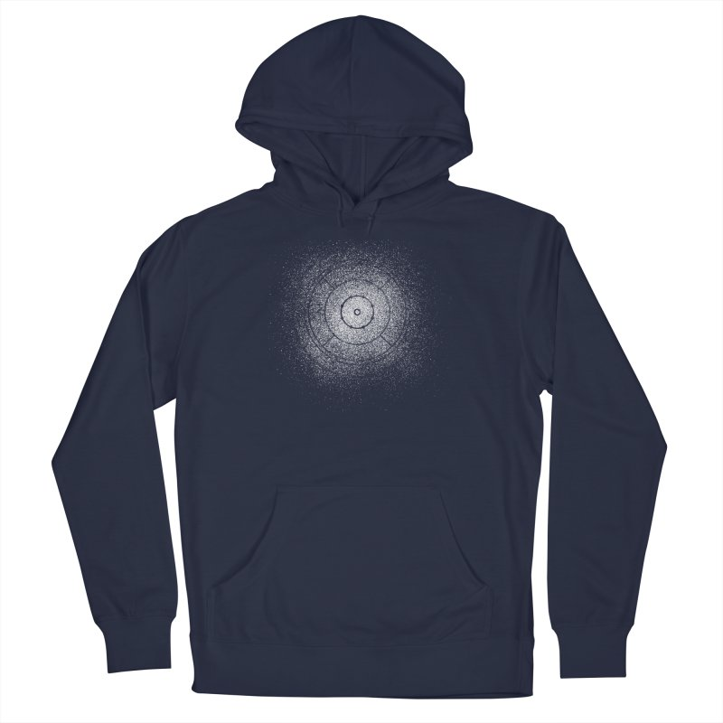 Crokinole Sprayed Men's Pullover Hoody by Herhuth Design