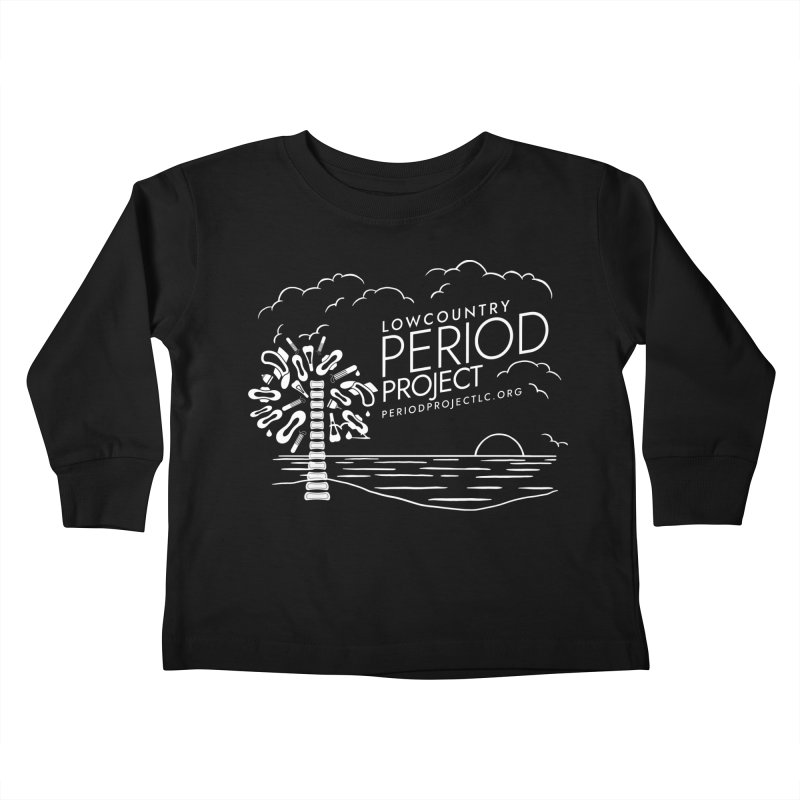 Lowcountry Period Project Beach Kids Toddler Longsleeve T-Shirt by Herhuth Design