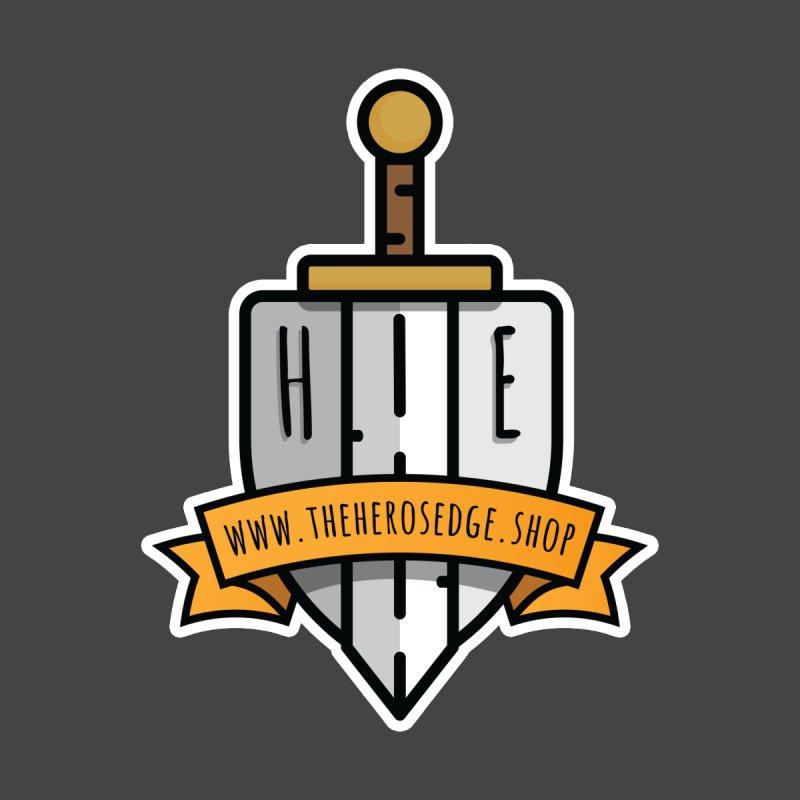 The Hero's Edge Sword & Shield Website Banner Men's T-Shirt by The Hero's Edge