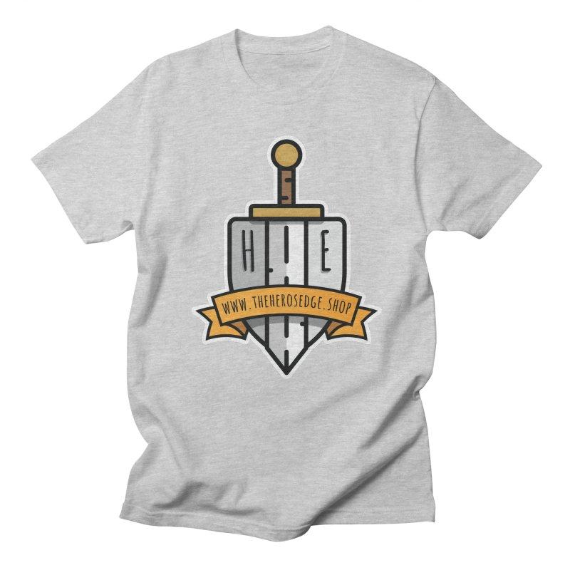 The Hero's Edge Sword & Shield Website Banner Women's Regular Unisex T-Shirt by The Hero's Edge