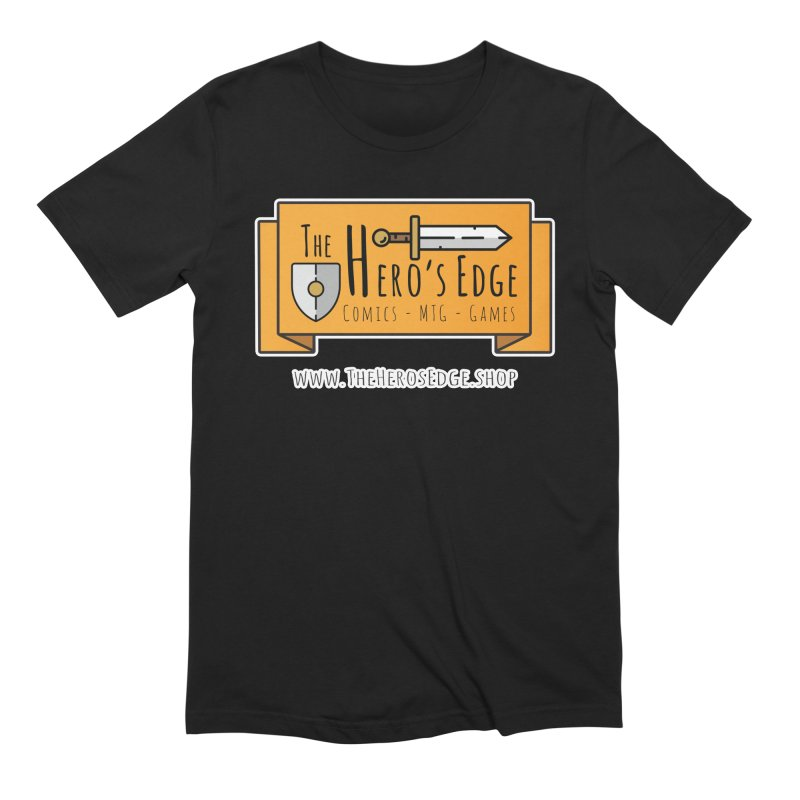 The Hero's Edge Website Banner Men's T-Shirt by The Hero's Edge